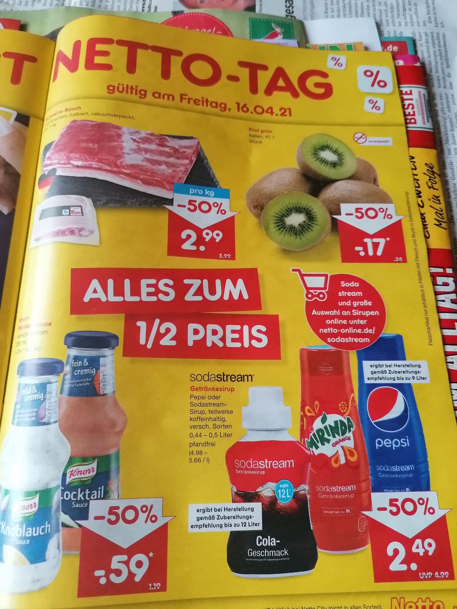 [Netto MD Tag 16.4.21] Kiwi Kl.1 Italien 0,17€/Stück