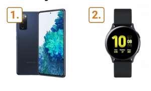 Samsung Galaxy S20 FE und Watch Active 2 im Telekom Congstar (8GB LTE 50Mbit, VoLTE) mtl. 22€ einm. 103,99€ | Wechsel in den S = 406,99€