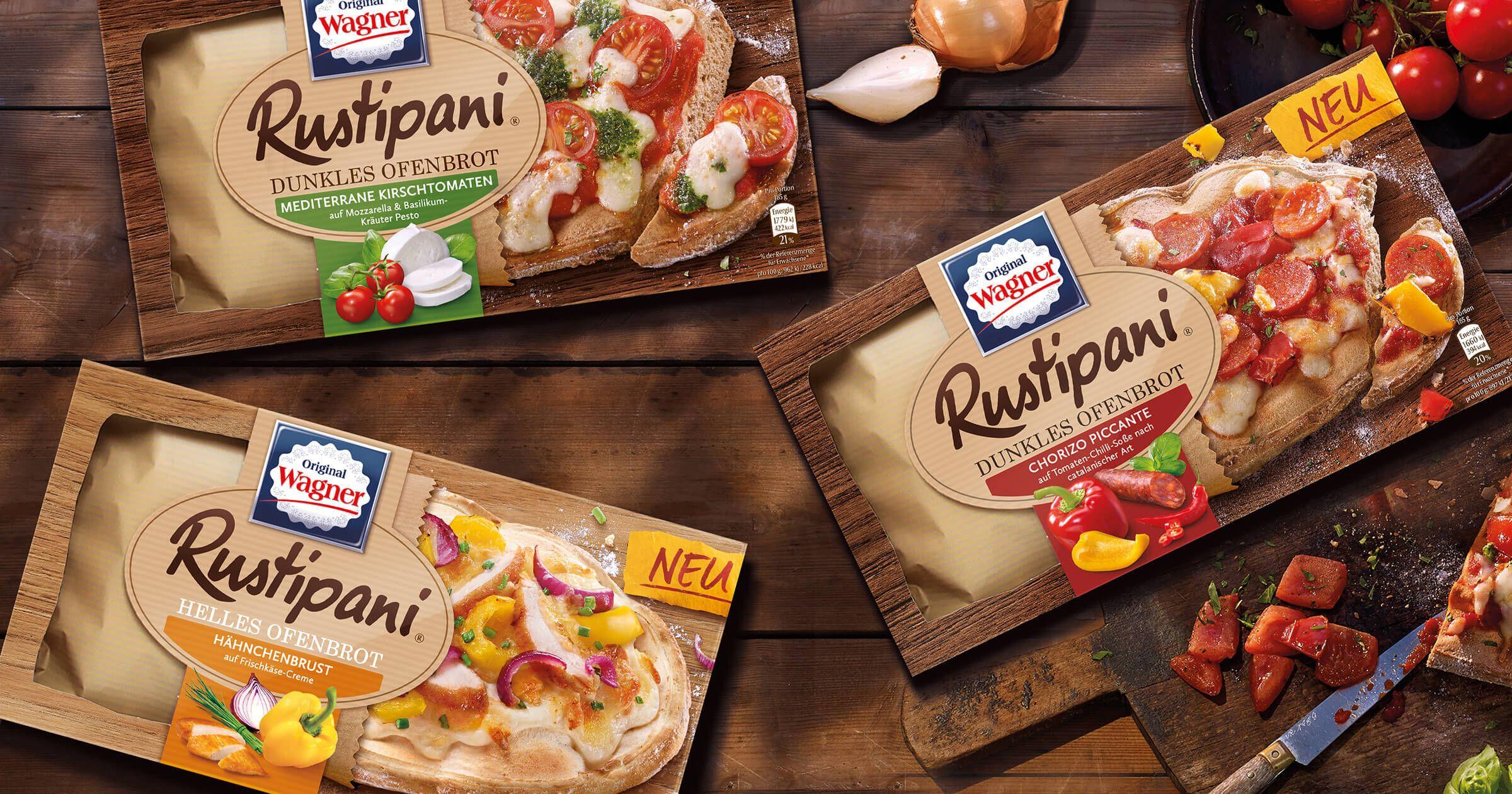 [Edeka Minden-Hannover] Wagner Rustipani Pizza versch. Sorten mit Coupon für 0,89€
