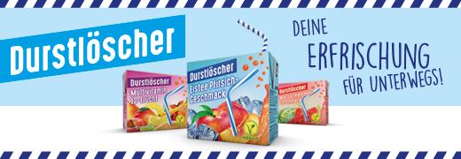 [Real] Durstlöscher 500 ml verschiedene Sorten für 0,45€