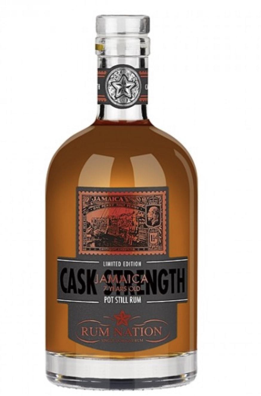 Rum Nation Jamaica 7 YO Cask Strength Rum 61,2% vol. 0,70l