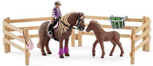 Schleich, Horse Club, Reiterin mit Island Ponys (Abholung 12,99€)