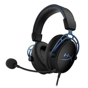 HyperX HX-HSCAS-BL/WW Cloud Alpha S - Gaming Headset mit HyperX Virtual 7.1 surround sound und verstellbarem Bass
