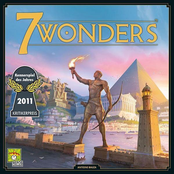 7 Wonders Brettspiel und Kennerspiel des Jahres 2011