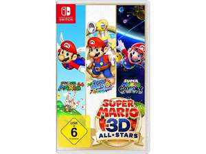 Super Mario 3D Allstars für Nintendo Switch bei Saturn/ Media Markt Abholung