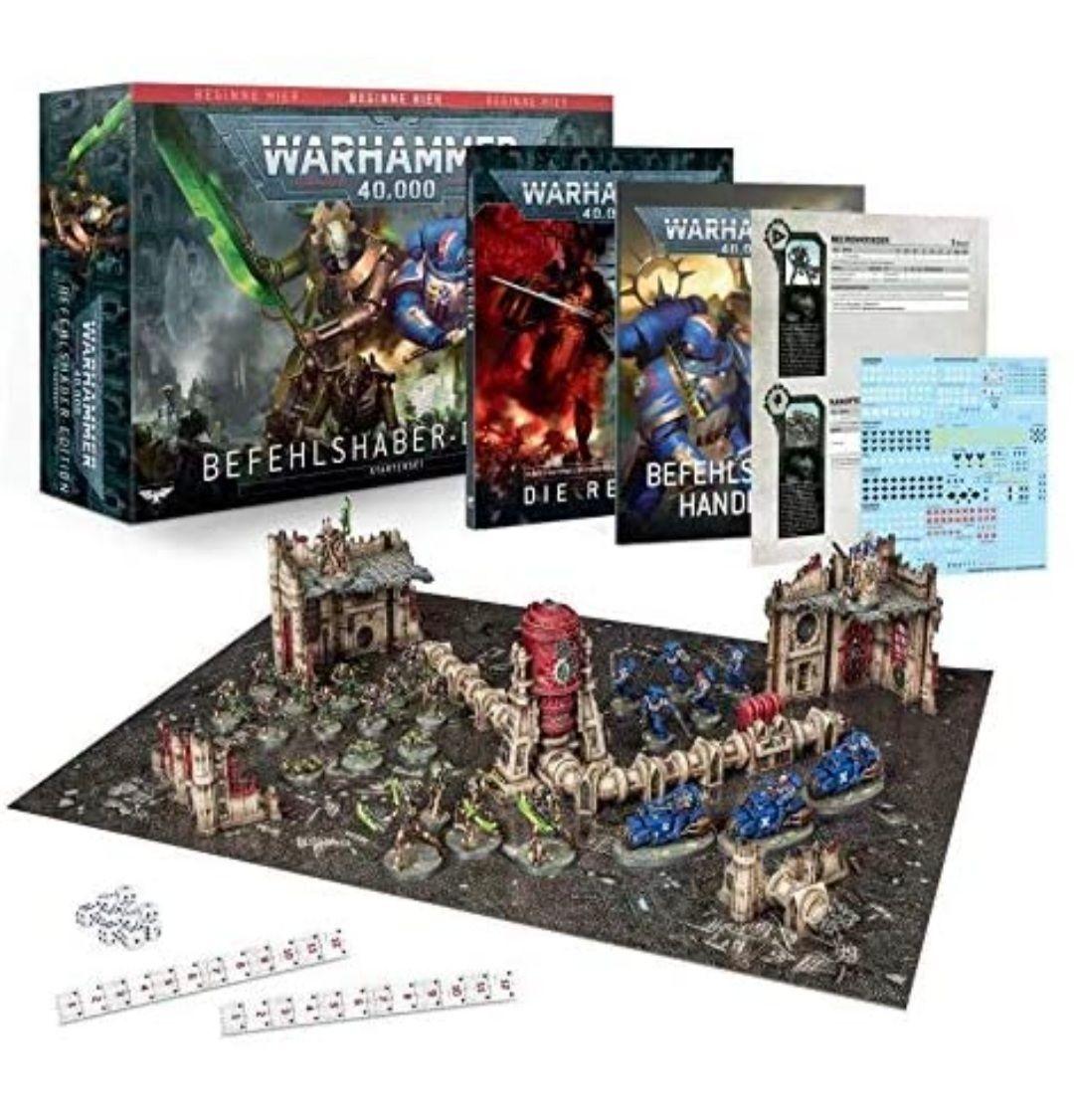 Warhammer 40.000 Befehlshaber Edition - Starterset