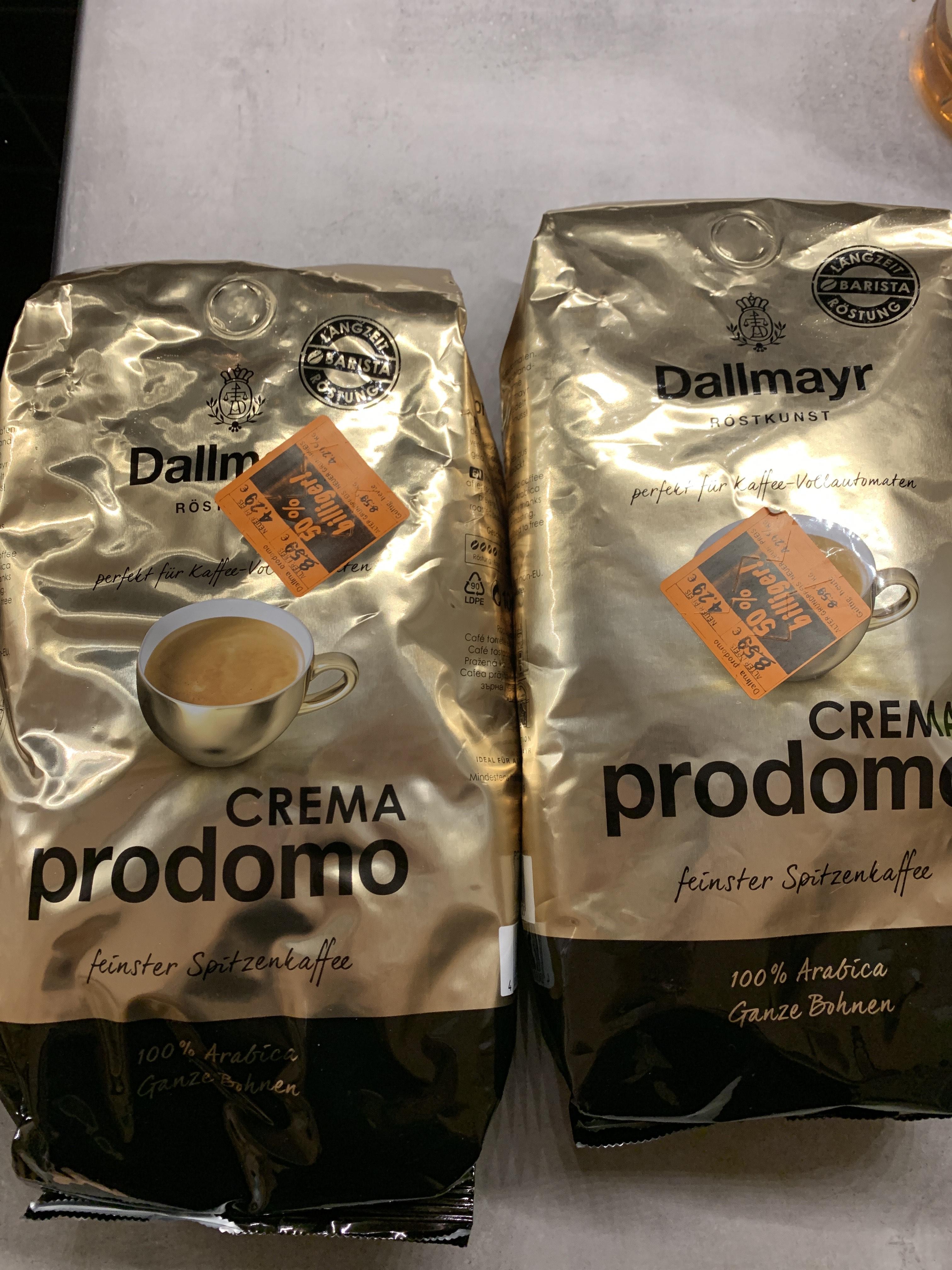 Dallmayr Crema Prodomo [LOKAL LIDL Stuttgart]