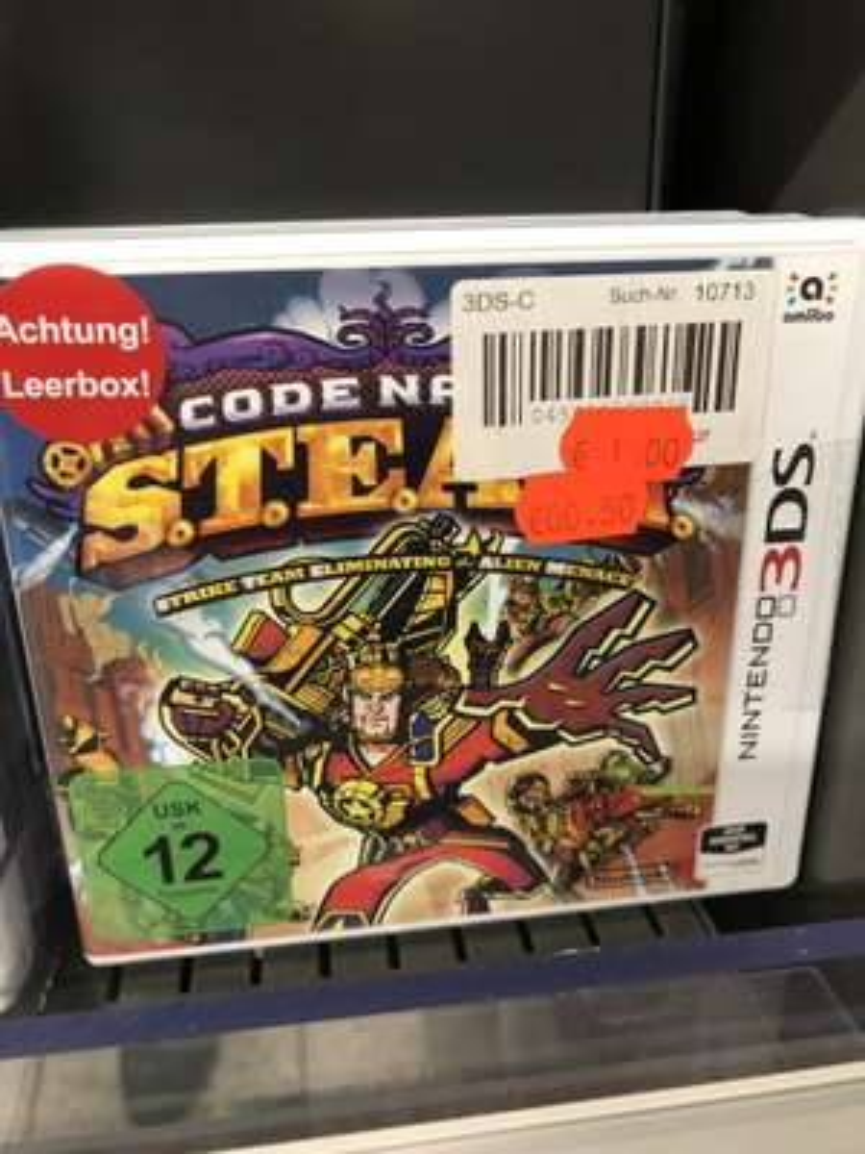 Code Name Steam (Nintendo 3DS) (Lokal Real Ratingen)