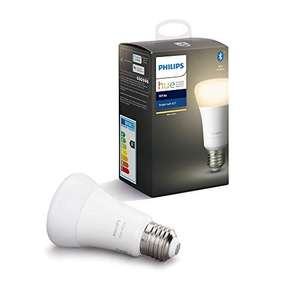 """Philips Hue White E27 LED Lampe Einzelpack - Amazon WHD """"Wie Neu"""" - Prime 6,69€ sonst ohne Prime 9,69€"""