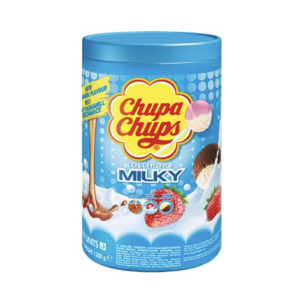 100x Chupa Chups Milky (3 Geschmacksrichtungen) Sparabo+Coupon