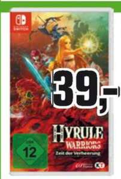 [Regional Alphatecc ab 12.04] Hyrule Warriors Switch Zeit der Verheerung - Nintendo Switch für 39,-€