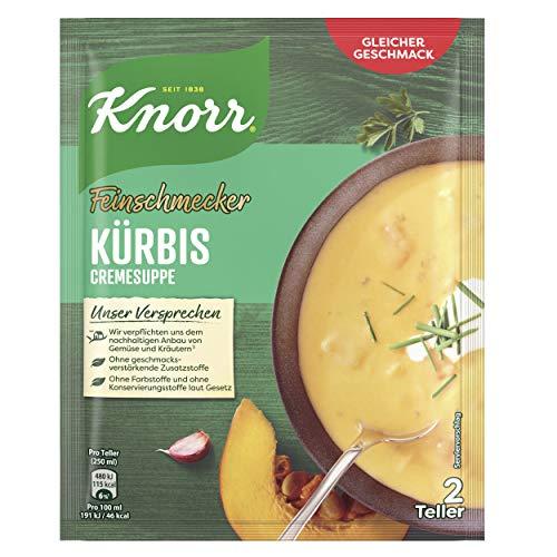 Amazon Prime: Knorr Feinschmecker: Kürbissuppe, 2 Teller , 53 Gramm Inhalt