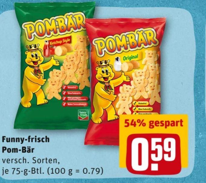 Funny-Frisch Pom-Bär für 59 Cent Rewe Berlin Dresden usw.