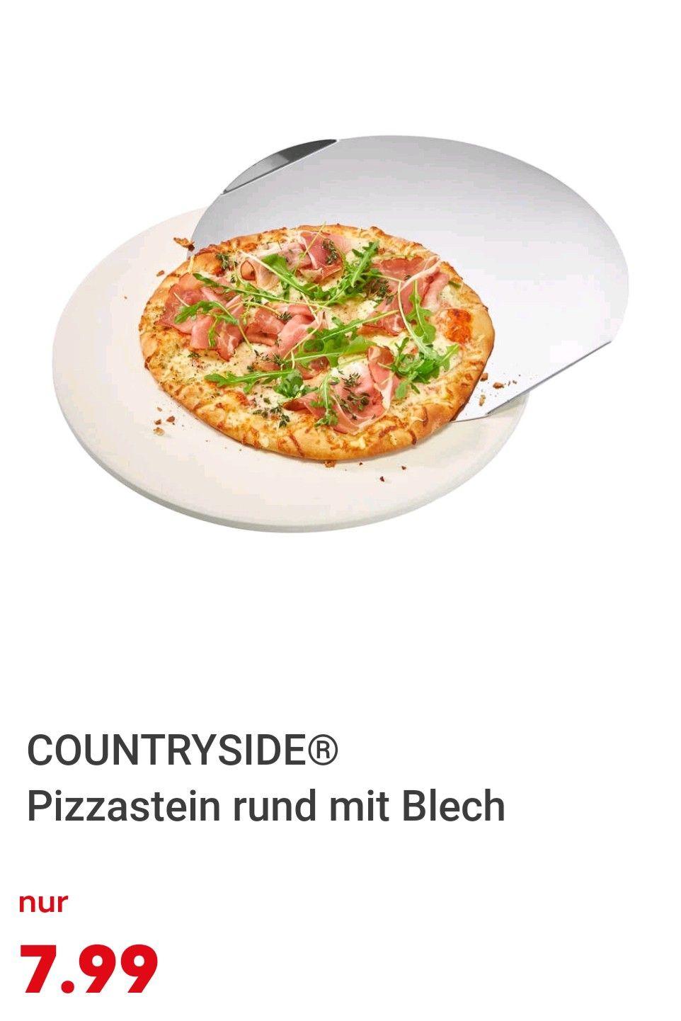 Pizzastein mit Extra