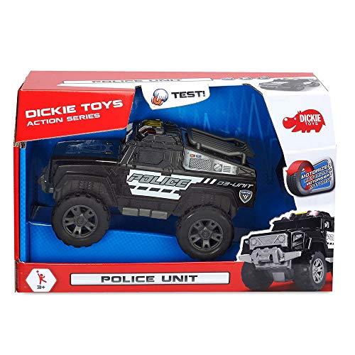 [Prime] Dickie Toys Polizeiauto mit Motor, Licht und Sound