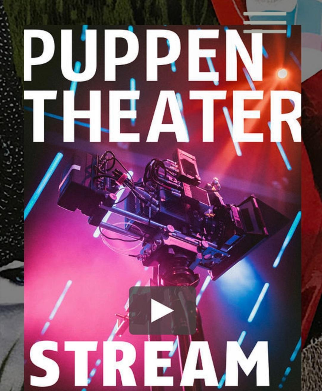 [Puppentheater Halle] verschiedene Theateraufführung als Stream