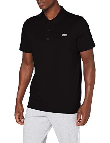 Lacoste Herren Polohemd DH2881 nur in Größe L und schwarz.