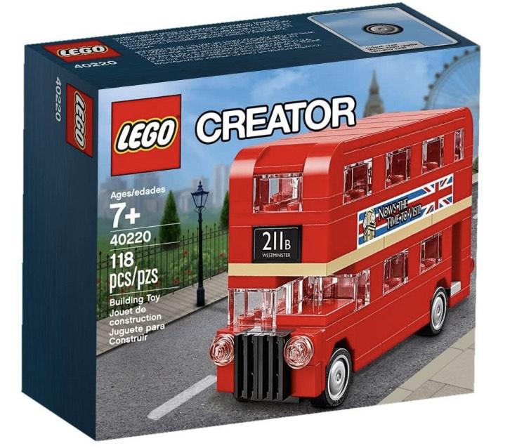 [amazon PRIME] LEGO 40220 Creator Stockbus - London Citybus 118 Teile