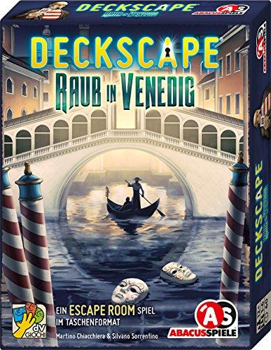 [Amazon Prime oder Thalia Kultclub] Deckscape - Raub in Venedig, Escape Room Spiel
