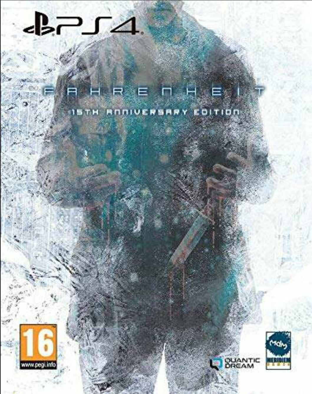 Fahrenheit – 15th Anniversary Edition - Sony PlayStation 4 - Abenteuer - PEGI 16