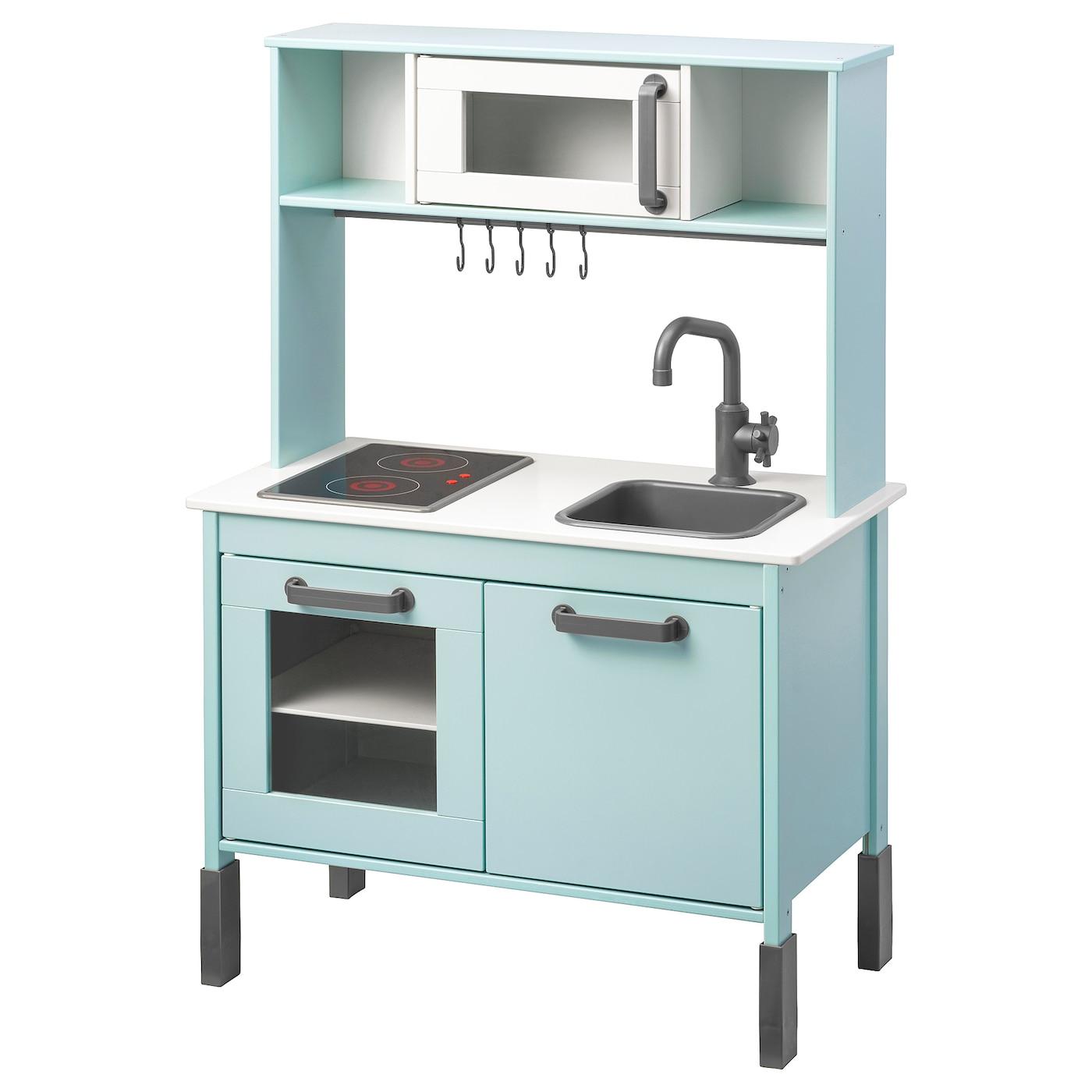 [IKEA] Lokal DUKTIG Kinderküche hellblau | Micro Camper Küche