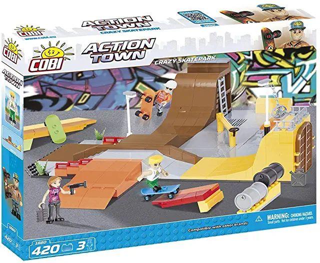 Cobi Crazy Skatepark 1880 ( Amazon UK Prime Angebot)