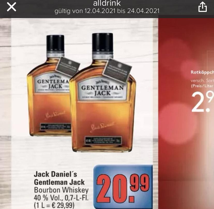 Regional in Kaiserslautern: Jack Daniels Gentleman Jack