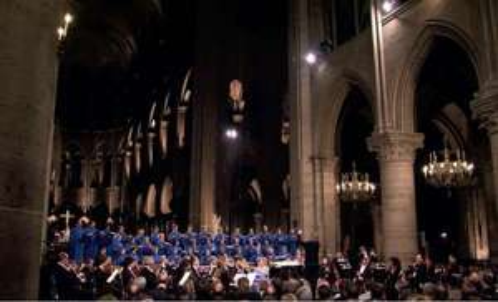 [eBay oder Prime +1 Cent] J. S. Bach: Messe in H-Moll (BWV 232) (Paris, Notre-Dame 2006) DVD, kostenlos im Stream auf Bibel TV