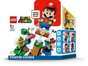 LEGO 71360 Super Mario - Abenteuer mit Mario Starterset für 37,68€ inkl. Versandkosten