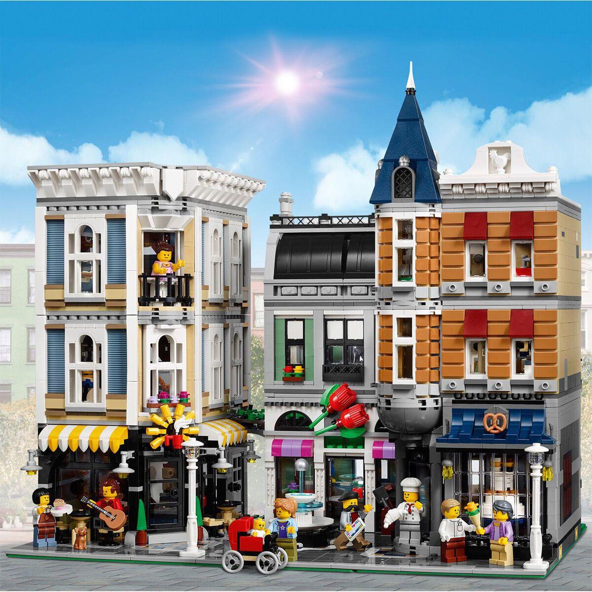 LEGO 10255 Stadtleben Creator Expert Assembly Square