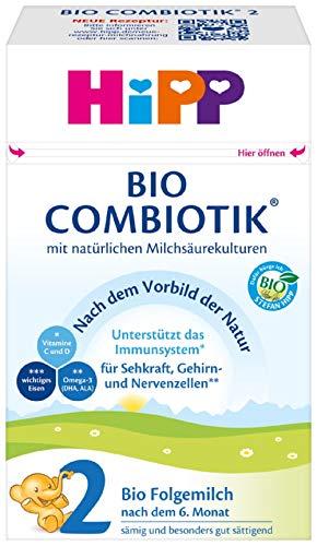 Amazon Prime + Sparabo: 4x 600 Gramm Hipp combiotik 2 mit oder ohne Stärke verfügbar