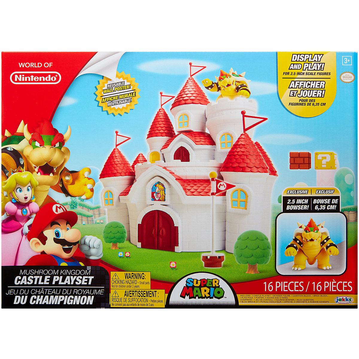 Nintendo - Jakks Mushroom Kingdom Castle Spielset 58541