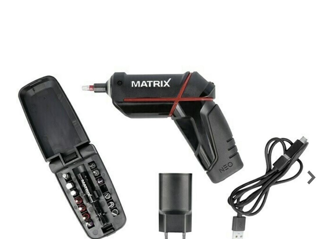 Mini Matrix NEO Akkuschrauber für 12,50€