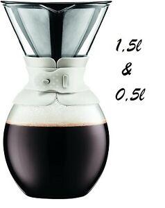 Bodum Pour Over Farbe Creme 1,5 Liter 21,99€