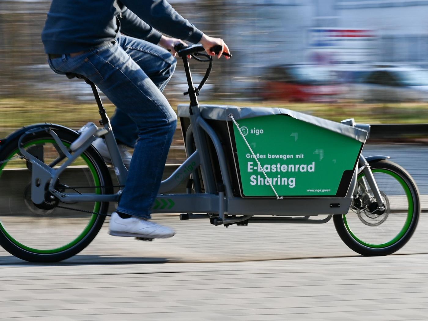 Sigo E-Lastenrad-Sharing keine Anmeldegebühr