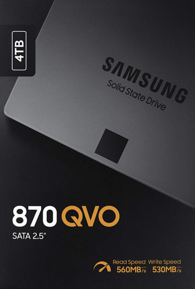 Samsung 870 QVO 4TB SATA (SSD) (MZ-77Q4T0BW)