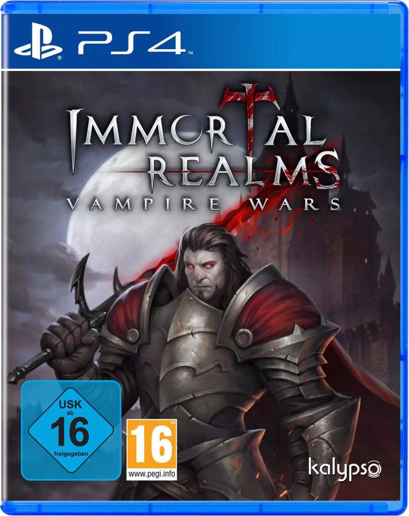 (PS4) Immortal Realms: Vampire Wars (Amazon Prime)