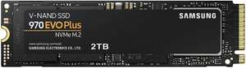 Samsung MZ-V7S2T0BW 970 EVO Plus 2 TB NVMe M.2 Interne SSD Schwarz