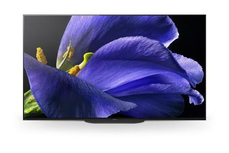 Sony KD77AG9 OLED TV 77 Zoll (195 cm), 4K UHD, Smart TV, Google Assistant, HDR, USB-Aufnahme Dynamic Range (HDR), Sprachfernbedienung