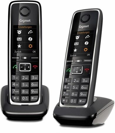 Gigaset C530HX Duo (schwarz) Expert Bening, DECT-Telefon