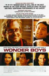 "[ARTE Mediathek] ""Wonder Boys"" mit Michael Douglas, Tobey Maguire, Frances McDormand und Robert Downey Jr kostenlos streamen [IMDb 7.2]"