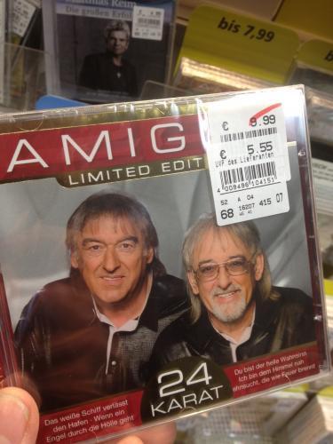 DIE AMIGOS 24  Karat Limited Edition nur 5,55 € statt 9,99 €