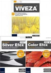 NIK Viveza, Color efex 3 Pro Complete, Silver efex Pro im Bundle auch als Download