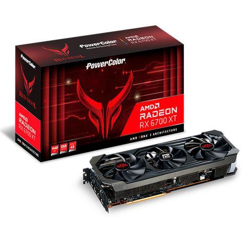 12GB PowerColor Radeon RX 6700 XT Red Devil 12GB