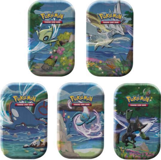 Pokemon Glänzendes Schicksal Mini-Tins - 5er Pack