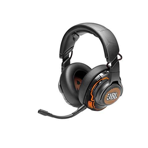 JBL Quantum ONE Over-Ear professional Gaming Kopfhörer – Wired 3,5 mm Klinke und USB – Mit QuantumSphere 360-Technologie – Schwarz