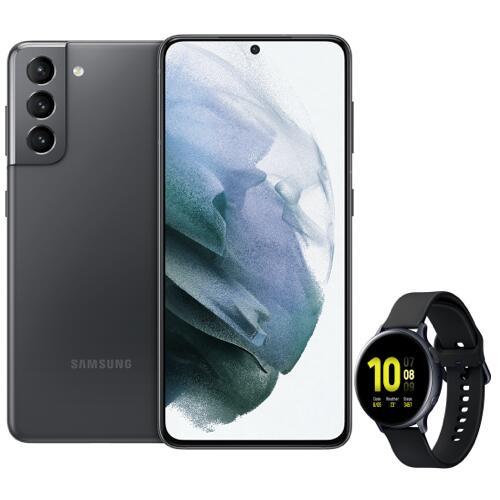 [Telekom Young M1] Samsung Galaxy S21 (128 GB) + Watch Active2 für 89,95 € ZZ + 29,95 € mtl. im MagentaMobil S (12 GB 4G/5G) + AP frei