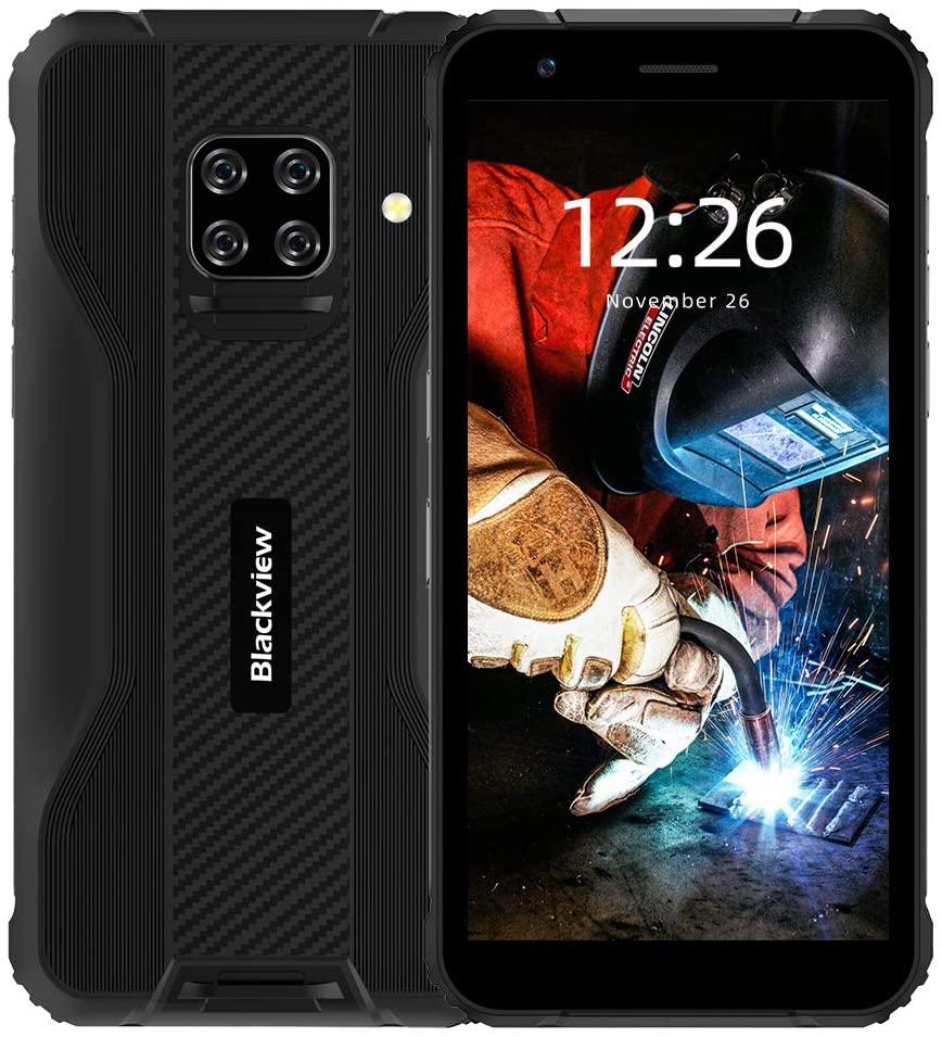 "Blackview BV5100 Outdoor Smartphone - 4GB, 64GB, IP68, 16MP, 5.7"", 5580mAh"