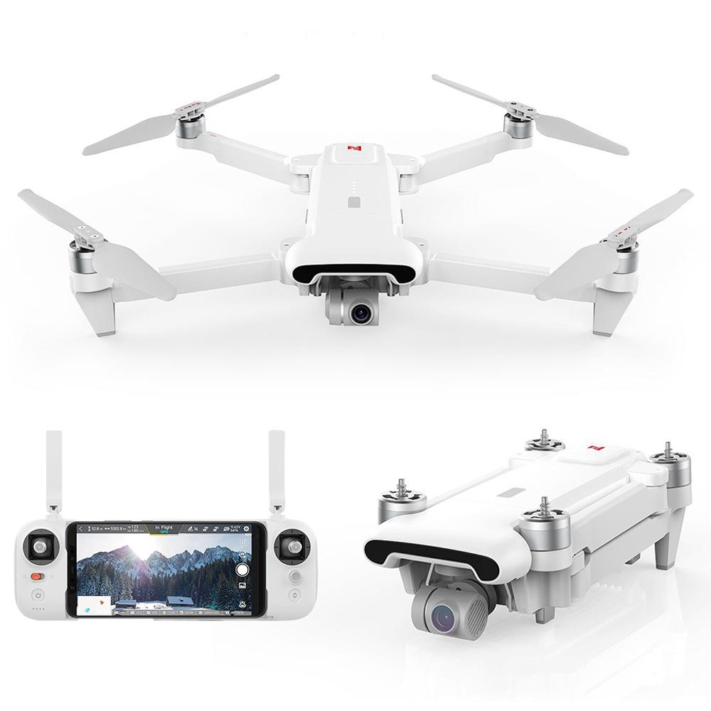 FIMI X8 SE 2020 Drohne (4K@30fps, 3-Achsen-Gimbal, ~5km Reichweite, ~33min Flugdauer, GPS, Tracking, Fernbedienung, klappbar, 790g)