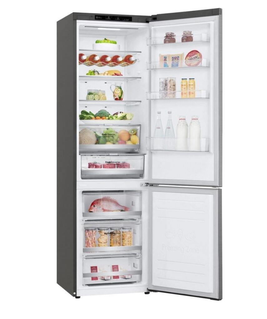 LG GBB72PZEXN Kühlgefrierkombination (EEK D / alt A+++, 173 kWh/Jahr, 2030mm hoch, DoorCooling+, LINEARCooling, No Frost )